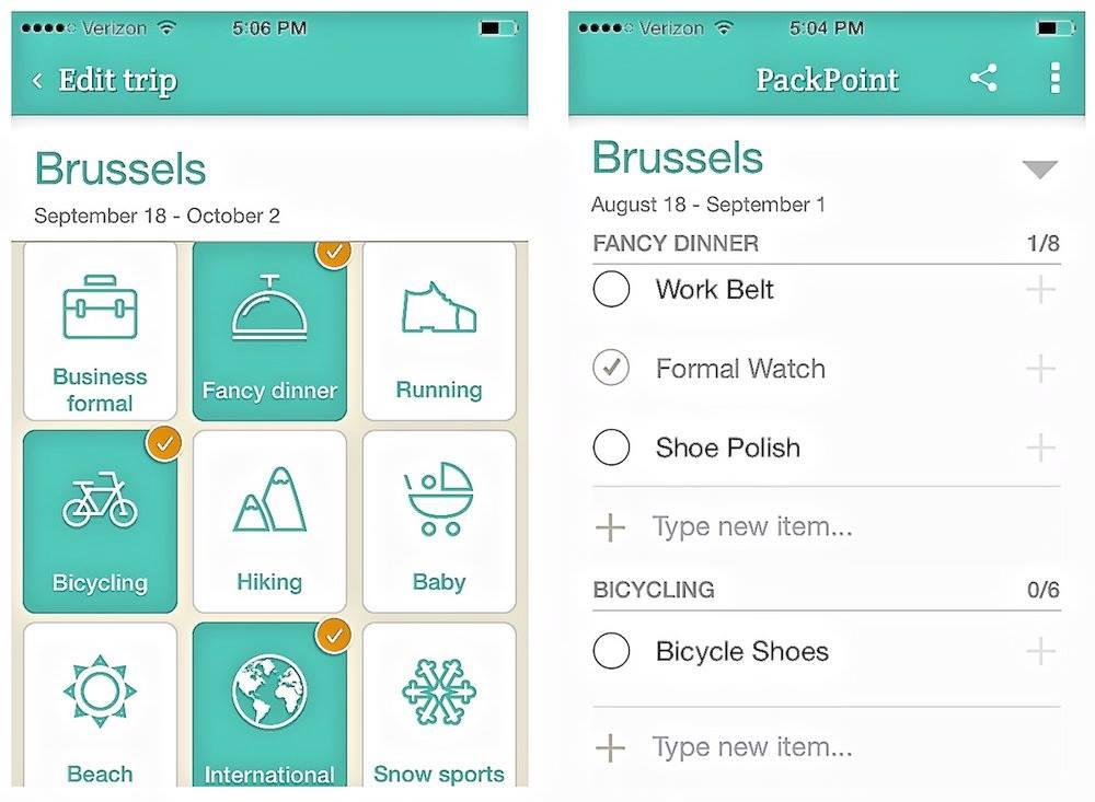Basic Apps for the Traveller